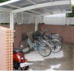 原付バイクも置ける駐輪場